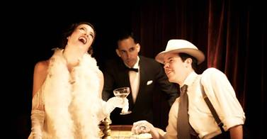 The Speakeasy, produced by Boxcar Theatre