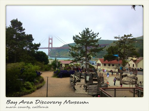 There's a model Golden Gate Bridge that you don't have to pay $7 to go over at the museum.