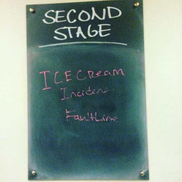 ice cream chalkboard